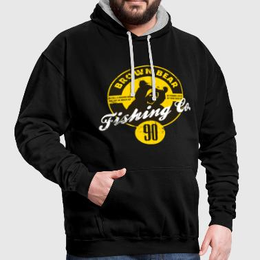 Animal Planet Brown Bear Facts - Contrast Colour Hoodie