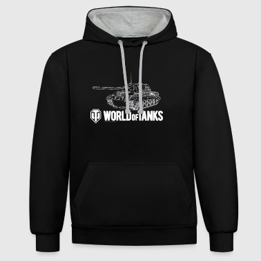 World of Tanks Jagdtiger Men Sweater - Kontrastihuppari