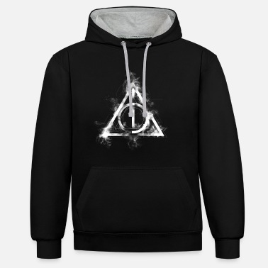 Harry Potter The Deathly Hallows Icon - Kontrast-hettegenser