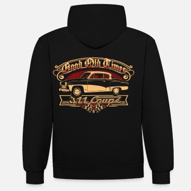 Collection Wartburg 311 Coupe - Unisex Hoodie zweifarbig