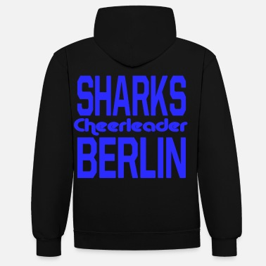 Cheerleader Pom-pom girl requins Berlin - Sweat-shirt contraste