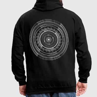 Tribal mandala - Sweat-shirt contraste