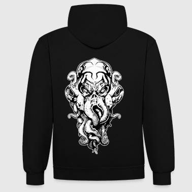 Cthulhu - Sweat-shirt contraste