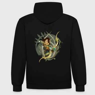 Wood Elf - Sweat-shirt contraste