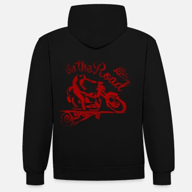 Bikes And Cars Collection motorossa - Unisex contrast hoodie