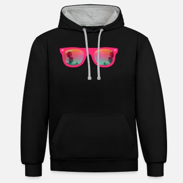 Sunglasses Sunglasses - Sunglasses - Unisex Contrast Hoodie