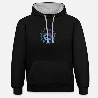 Snowboard freestyle - Unisex Contrast Hoodie