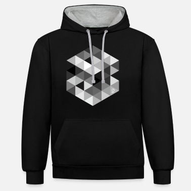 Cube AD Cube - Unisex Contrast Hoodie