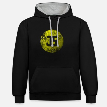 Grungy Grungy JavaScript - Unisex Contrast Hoodie