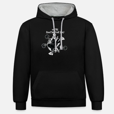 Healthy Eating healthy eating - Unisex Contrast Hoodie