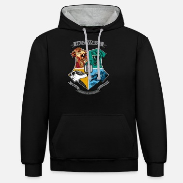 Harry Potter Men/'s Magical Forest Hoodie
