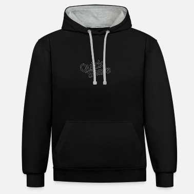 Quick quick share - Unisex Contrast Hoodie