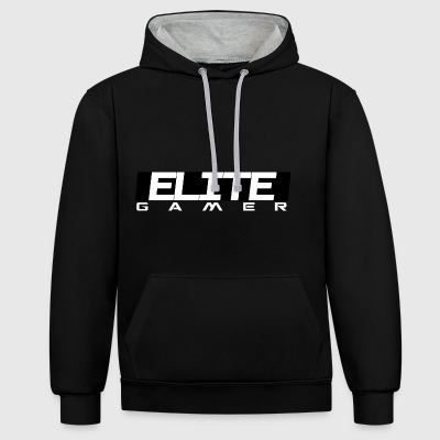 ELITE GAMER by JuiceMan Benji Gaming - Contrast Colour Hoodie