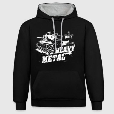 World of Tanks - Blitz, Heavy Metal - Kontrast-Hoodie