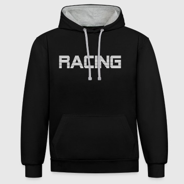 RACING - RACE CONDUITE - Sweat-shirt contraste