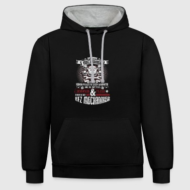 Mechanics honor! Limited edition! - Contrast Colour Hoodie
