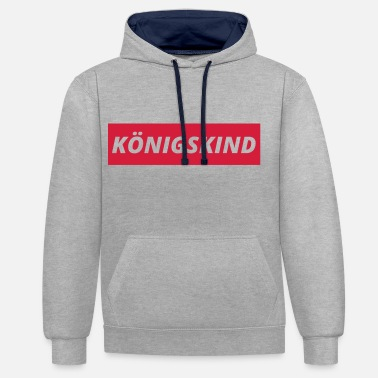 Koenig child - Contrast Colour Hoodie