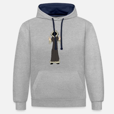 Nathan Nathan nightmare - Contrast Colour Hoodie