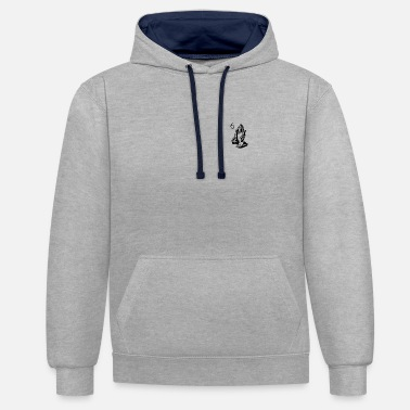 Praying Hands Praying Hands - Contrast Colour Hoodie