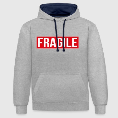 FRAGILE - Fragile - Sweat-shirt contraste