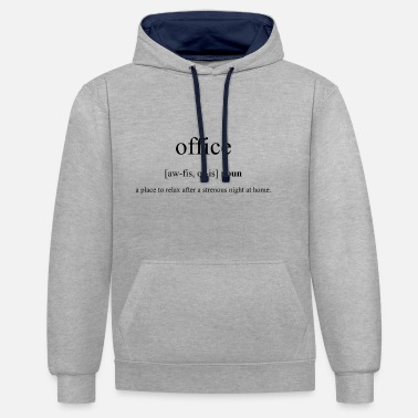 Office Office (office) - Contrast Colour Hoodie