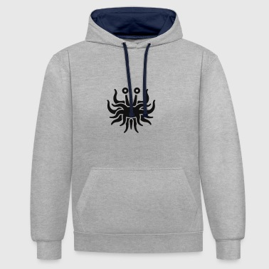 FSM, without stroke - Contrast hoodie