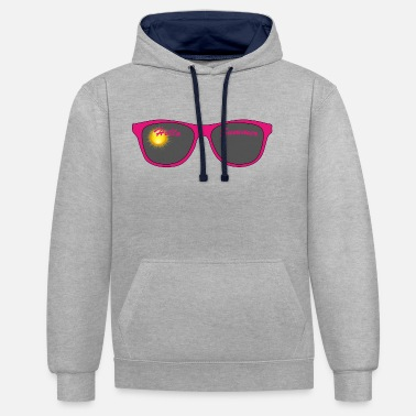 Sunglasses Sunglasses / Sunglasses - Contrast Colour Hoodie