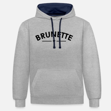 Brune Brunette - Sweat-shirt contraste