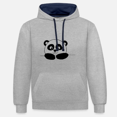 Panda PANDA - Sweat-shirt contraste
