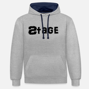 Stage Stage - Contrast Colour Hoodie