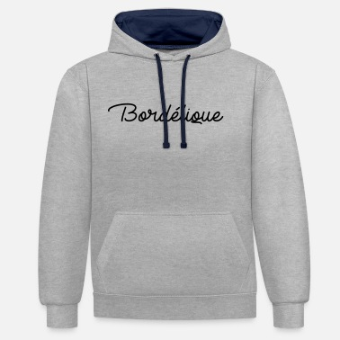 Bordel Bordélique - Sweat-shirt contraste