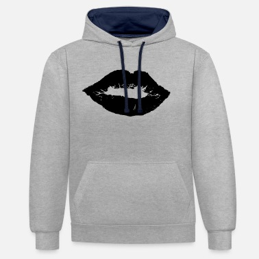 Affection affection - Contrast Colour Hoodie