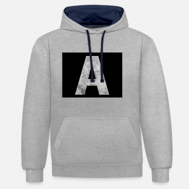 Alphabet alphabet - Sweat-shirt contraste