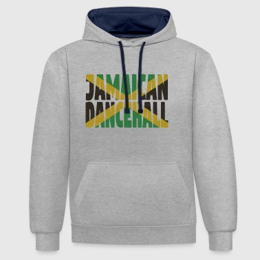 Dancehall jamaïcain - Sweat-shirt contraste