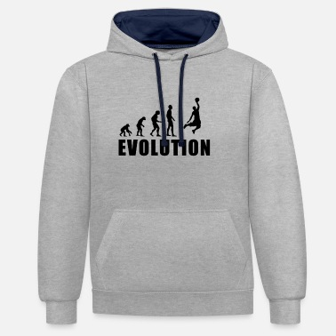 Basket EVOLUTION BASKET - Sweat-shirt contraste