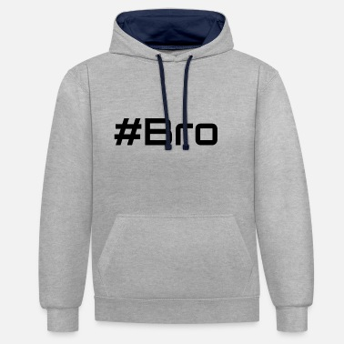 Bro Bro - Sweat-shirt contraste
