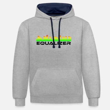 Equalizer equalizer one - Sweat-shirt contraste