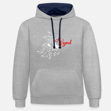 Wizard Wizard - Contrast Colour Hoodie