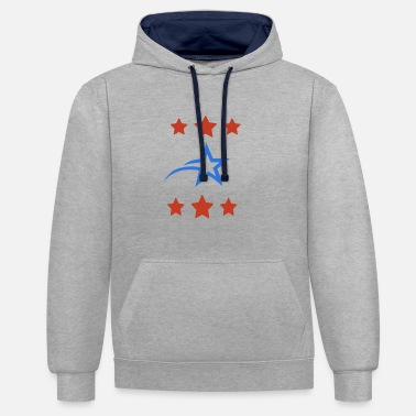 Shooting Star shooting star - Contrast Colour Hoodie