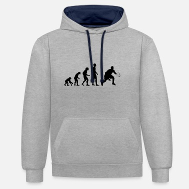 Evolution Basketball Evolution Shirt zwart - Contrast hoodie