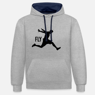 Freerunning Parkour freerunning - Contrast Colour Hoodie