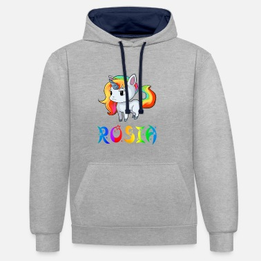 Rossia Unicorn Rosia - Sweat-shirt contraste