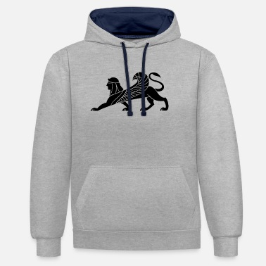 Mythical mythical creatures - Contrast Colour Hoodie