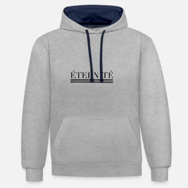 Éternité ETERNITE - Sweat-shirt contraste