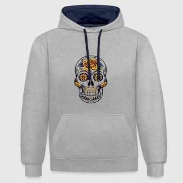 Day of the Dead - Contrast hoodie