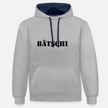 Glee Batchi the new word for mockery mockery glee - Contrast Colour Hoodie
