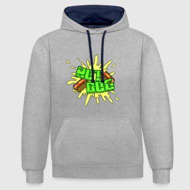 HotDoG avec de la moutarde - Sweat-shirt contraste