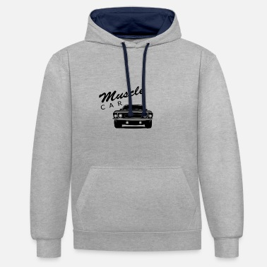 Muscle Car Muscle car - Contrast Colour Hoodie