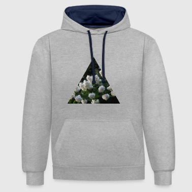 buisson lilas - Sweat-shirt contraste
