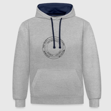 Frost Ring of Frost - Contrast Colour Hoodie